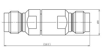 製図:中継アダプター Jack-Jack