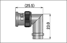 製図:L形 インシリーズ アダプター P-J