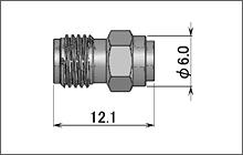 製図:ストレートジャック(はんだタイプ)085/141用 Brass