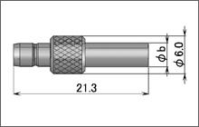 製図:ストレートジャック(圧着タイプ)1.5D/RG-174・316・188用