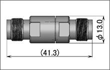 製図:ストレート インシリーズ アダプター J-J