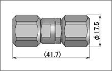 製図:ストレート インシリーズ アダプター P-P