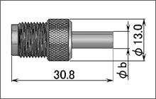 製図:ストレートジャック(圧着タイプ)